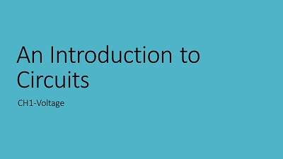 A PowerPoint title slide with a light blue background and black text
